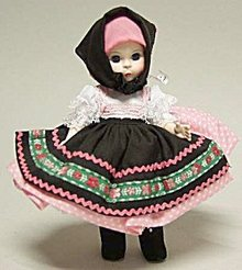 "Madame Alexander ""Yugoslavia"" Doll"