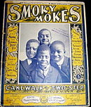 1899 Black Americana SMOKY MOKES Sheet Music