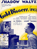 'Gold Diggers of 1933' Shadow Waltz Sheet Music