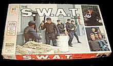 1976 'S.W.A.T.' /SWAT TV Show Board Game