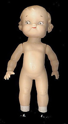 1950s Ideal 'Campbell Soup Kid' Rubber Doll