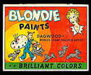1946 Blondie & Dagwood Paints Tin Box