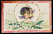'Token of Affection' Tucks Valentine's Day Postcard