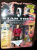 Star Trek (Generations) Adm. James T. Kirk MOC