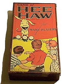 "1936 ""Hee Haw"" Milton Bradley Game"