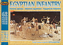 Atlantic 'Egyptian Infantry' 1/72 Soldiers in Box