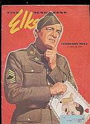 """The Elks"" Magazine February 1942"
