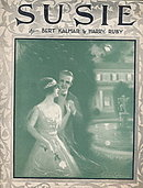 """""""Susie"""" 1920 Frederick Manning Sheet Music"""