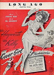 1944 'Long Ago' Rita Hayworth,Gene Kelly Music