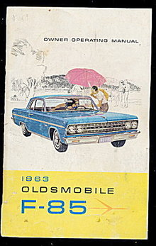 1963 Oldsmobile F-85 Owner Operating Manual