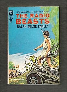 1964 'The Radio Beasts' Ralph Milne Farley Ace Book
