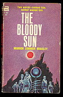 1964 'The Bloody Sun' Marion Zimmer Bradley Ace Book