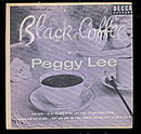 1953 'Black Coffee with Peggy Lee' 2 45 Record Set