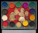 1933 Popeye Paints at Perfik! Paints Tin Box
