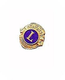Early Lions Fraternal Lapel Pin