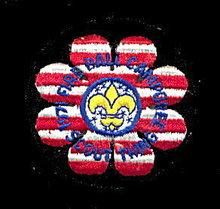 1971 S Florida 1971 Fireball Camporee Boy Scouts Patch