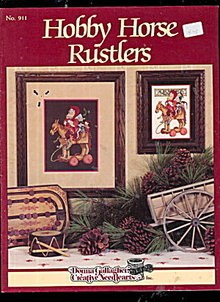 'Hobby Horse Rustlers' Cross Stitch Pattern