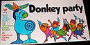 """1969 Whitman """"Donkey Party"""" Game"""