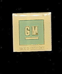 Vintage GM (General Motors) Mark of Excellence Pin