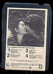 John Lennon & Yoko Ono 'Double Fantasy' 8 Track