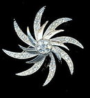 1966 Sarah Coventry 'Evening Comet' Brooch