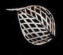 1968 Sarah Coventry 'Modern Leaf' Silvertone Brooch