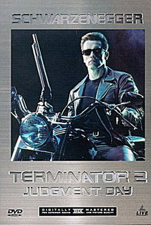 Terminator 2: Judgment Day DVD with Case