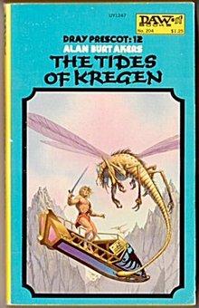 1976 'The Tides of Kregen' Science Fiction 1st Book
