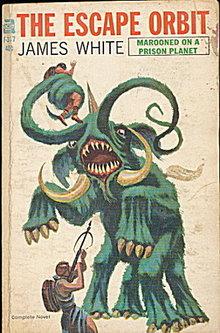 1965 'The Escape Orbit' James White 1st Book
