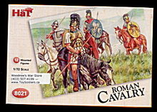 1/72 HAT 8021 Romans Cavalry Soldiers