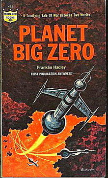 """1964 """"Planet Big Zero"""" Hadley Sci-Fi Book"""