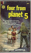 1959 'Four from Planet 5' Murray Leinster Book