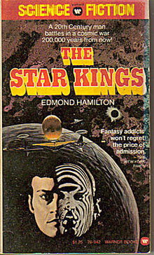 1975 'The Star Kings' Edward Hamilton Sci-Fi Book