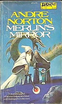 1975 'Merlin's Mirror' Andre Norton Sci-Fi Book