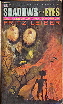 'Shadows with Eyes' Fritz Lieber Sci-Fi Book