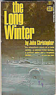 1962 'The Long Winter' John Christopher Sci-Fi Book