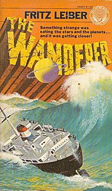 """1964 """"The Wanderer"""" Fritz Lieber Sci-Fi Book"""