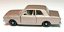 1960s Matchbox #25 Ford Cortina