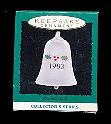 Hallmark Keepsake 1993 Holly Bell Ornament