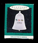 Hallmark Keepsake 1993 Holly Bell Ornament