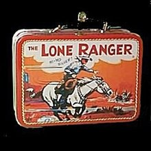 Hallmark 'Lone Ranger' Lunchbox Keepsake Ornament