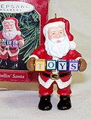 "Hallmark ""Spellin Santa"" Keepsake Ornament"