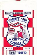 Vintage Yankee Girl Chewing Tobacco Pouch/Bag