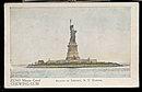 Zeno Chewing Gum Statue of Liberty Advertising Postcard