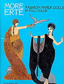 """1984 Tom Tierney """"More Erte"""" Paper Dolls"""