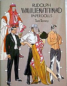 1984 Tom Tierney Rudolph Valentino Paper Dolls