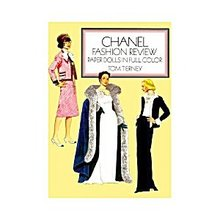 Tom Tierney Chanel Fashion Review Paper Dolls