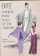 1978 Erte Fashion Paper Dolls