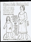 1981 Spanish Colonial Paper Dolls