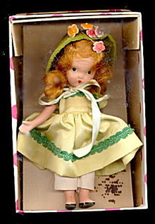 Nancy Ann 'Around the World' Irish #34 Doll in Box